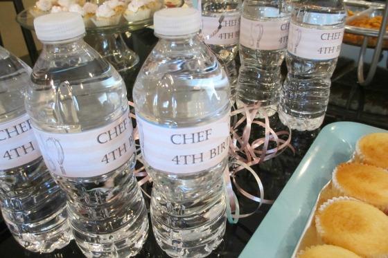 Theme water bottles